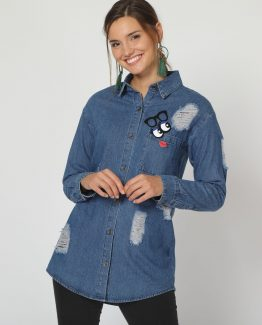 Sobrecamisa denim - Tutto TempoSobrecamisa denim - Tutto Tempo