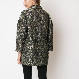 Tutto Tempo chaqueta camuflaje brillo
