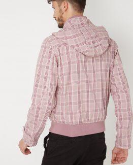 Chaqueta cuadros con capucha - Tutto Tempo
