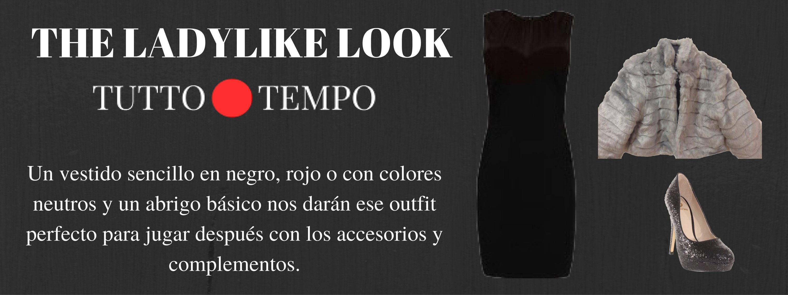 Vestido negro Tutto Tempo