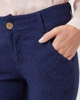 Pantalón brocado