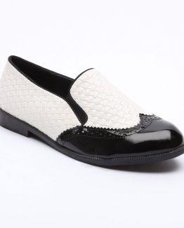 Zapato blanco y negro Tutto Tempo