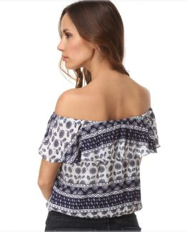 Blusa off-shoulder Tutto Tempo