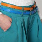 Short con cinturón
