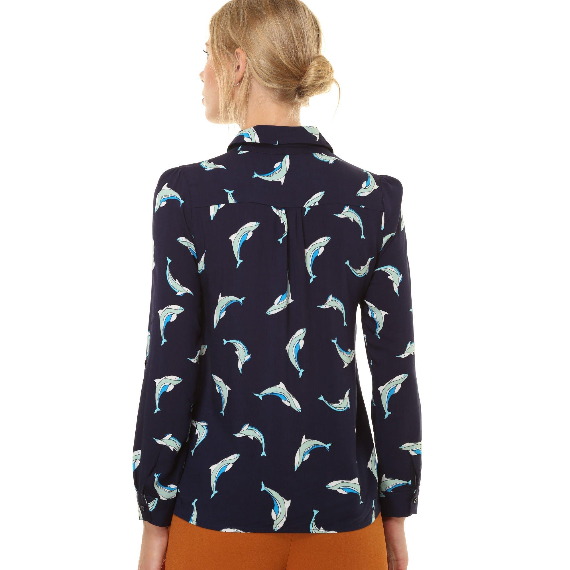 Blusa estampada delfines - Tutto Tempo