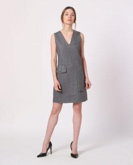Vestido sin mangas lana - Tutto Tempo