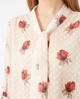 Blusa estampada de flores - TuttoTempo