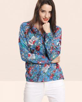 Blusa estampado floral - Tutto Tempo