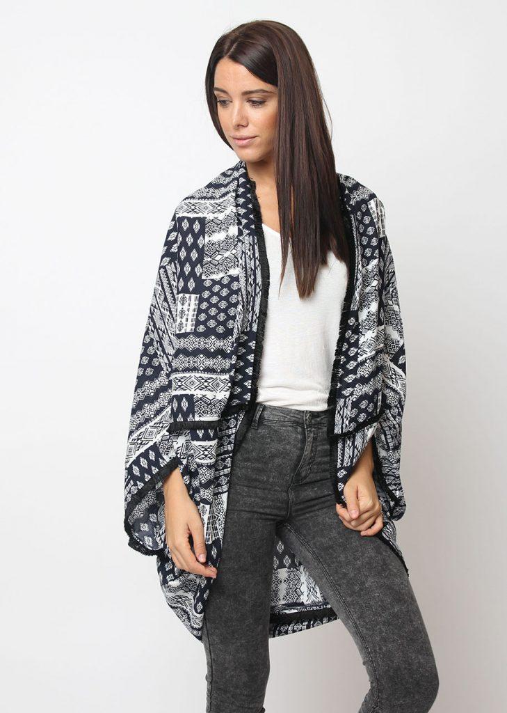 Kimono estampado - Tutto Tempo