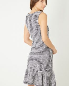 Vestido tweed - Tutto Tempo