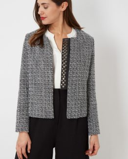 Chaqueta tweed - Tutto Tempo