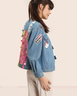 Chaqueta denim bordada - Tutto Tempo