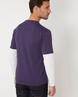 Camiseta efecto doble prenda - Tutto Tempo