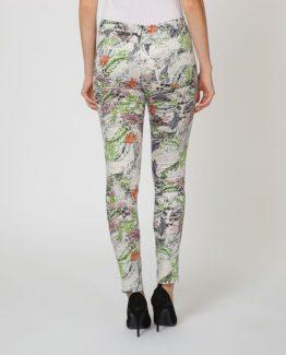 Pantalón estampado flores - Tutto Tempo