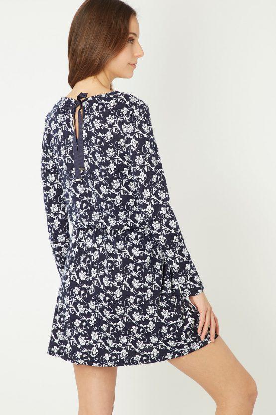 Vestido estampado floral - Tutto Tempo