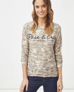 Camiseta estampado reptil - Tutto Tempo