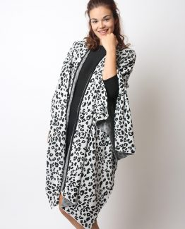 Poncho animal print - Tutto Tempo