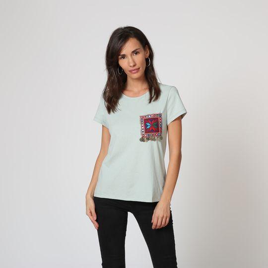 Camiseta mini espejos decorativos - Tutto Tempo
