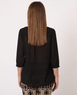 Blusa detalle en los hombros - Tuto Tempo