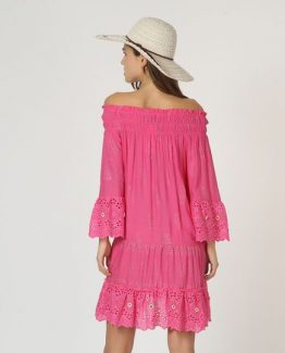 Vestido off-shoulder - Tutto Tempo