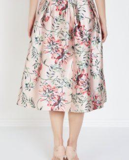 Falda estampado floral - Tutto Tempo