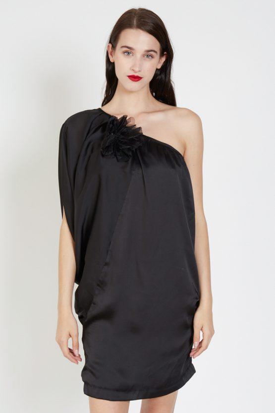 Vestido one shoulder - Tutto Tempo
