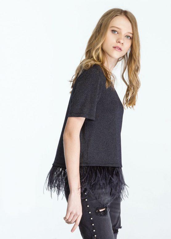 Camiseta plumas - Tutto Tempo