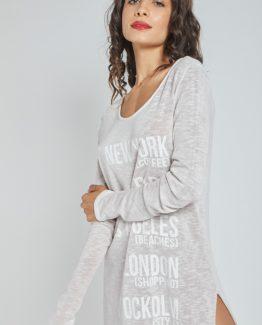 Vestido oversize - Tutto Tempo