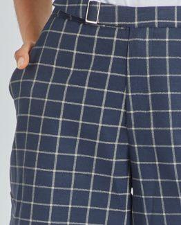 Pantalón crop cuadros - Tutto Tempo
