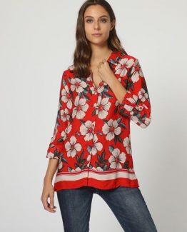 Camisa estampado floral - Tutto Tempo