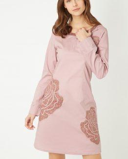 Vestido detalles bordados - Tutto Tempo