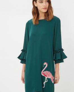 Vestido con flamenco - Tutto Tempo