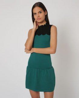 Vestido bicolor - Tutto Tempo