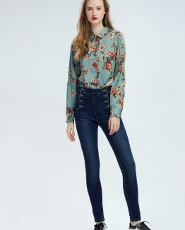 Jeans cintura alta - Tutto Tempo