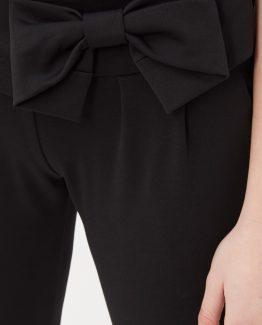 Pantalón con lazo decorativo - Tutto Tempo
