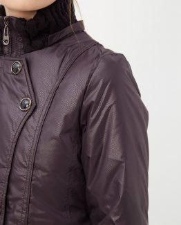 Abrigo acolchado con capucha - Tutto Tempo