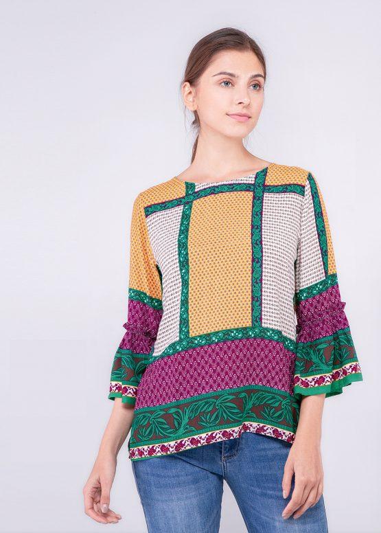 Blusa multicolor - Tutto Tempo