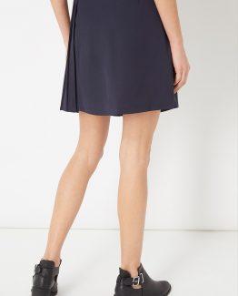 Falda con plisado lateral - Tutto Tempo