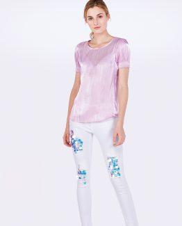 Jeans blanco desgatado - Tutto Tempo
