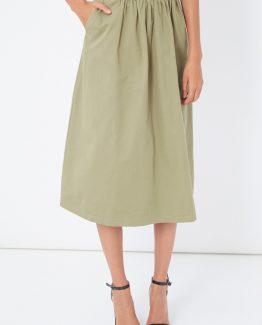 Falda larga plisada - Tutto Tempo