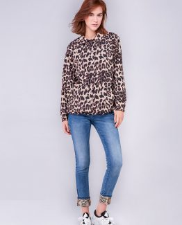 Chaqueta animal print - Tutto Tempo