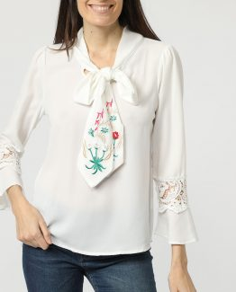 Blusa lazo decorativo - Tutto Tempo