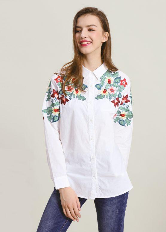 Camisa bordada - Tutto Tempo